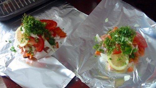 рецепт приготовления рыбы горбуши в духовке