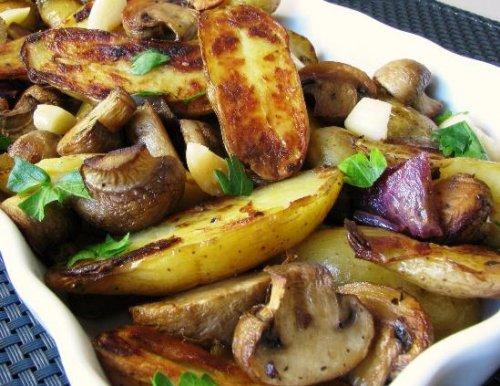 картошка по деревенски в духовке рецепты с фото