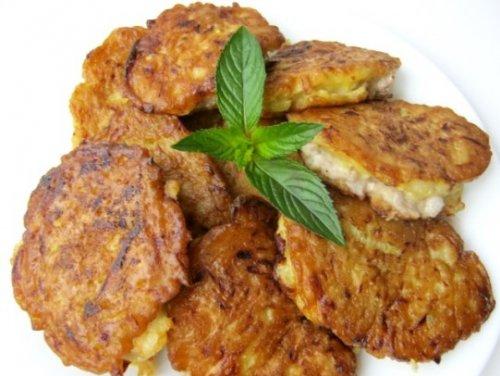 оладьи из печени куриной рецепт с манкой