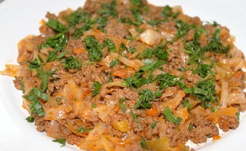 кулинария (солянка из капусты)