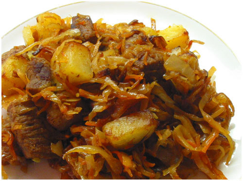 солянка сборная с капустой и картошкой