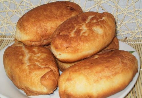 Тесто на пирожки жареные на дрожжах в холодильнике — pic 5