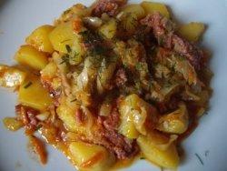 Рецепты тушеной картошки - ТОП 5 рецептов с фото. Как приготовить тушеную картошку с мясом