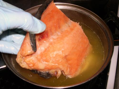 Как приготовить уху в домашних условиях лосося