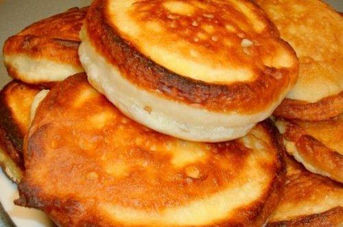 вкусные оладушки на кефире рецепт с фото