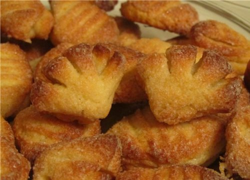 Печенье гусиные лапки рецепт с фото