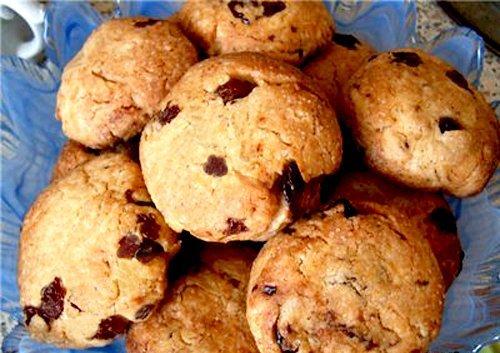 печенье на кефире в духовке рецепт с фото