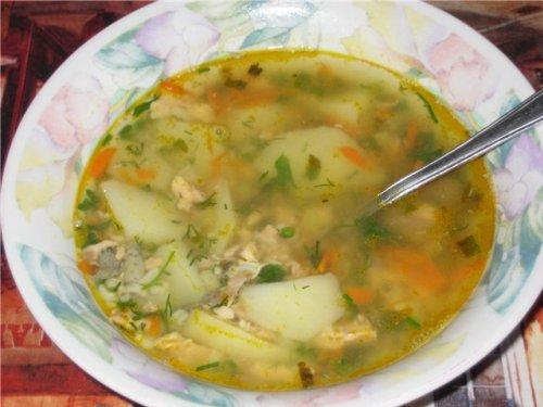 как приготовить суп с консервы