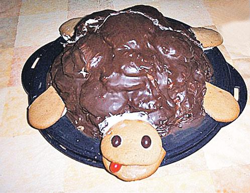 Классический торт «Черепаха» со сметаной
